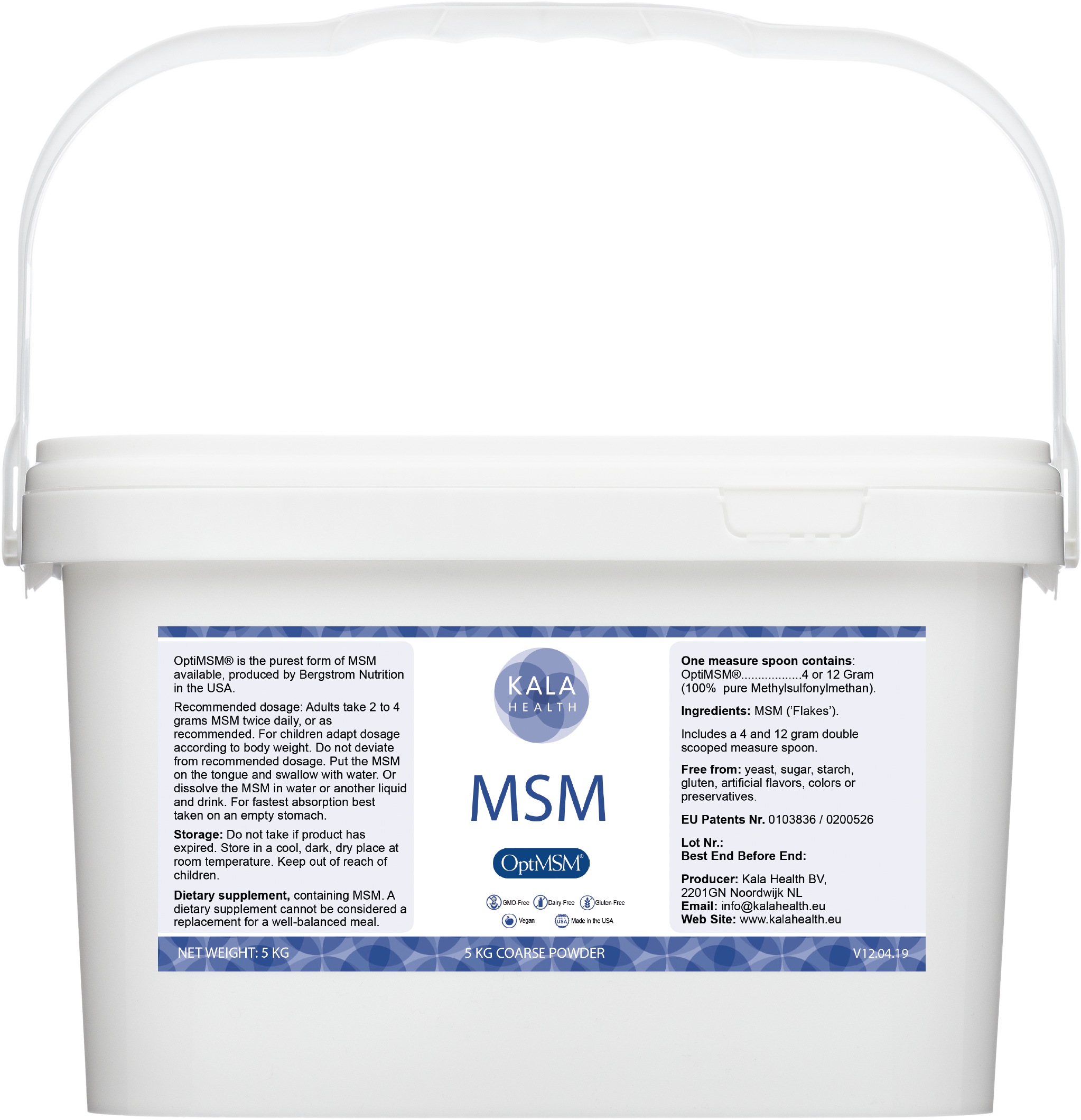 OptiMSM® 5 kg Powder